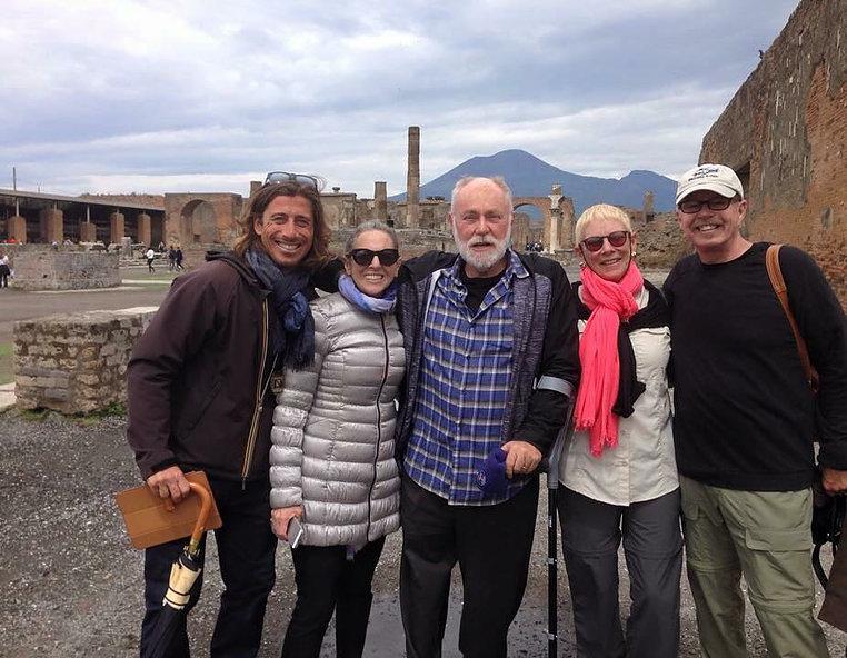 Private tour of Pompeii and Herculaneum