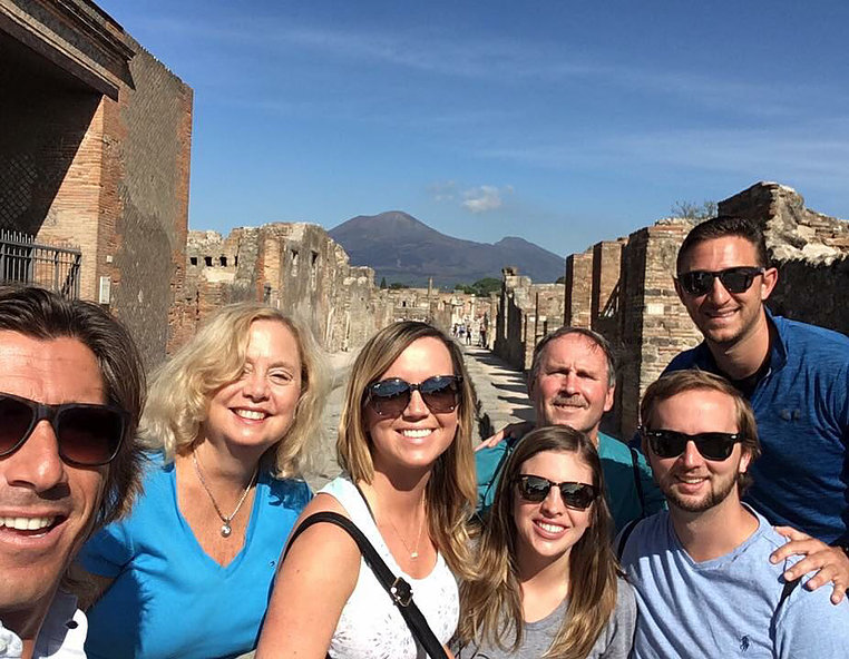 Private tour of Pompeii and Herculaneum